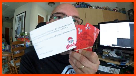 Wendy Gift Card Balance - wendy s canadian gift cards 100 mcdonald s nuggets ken s vlog 426 youtube