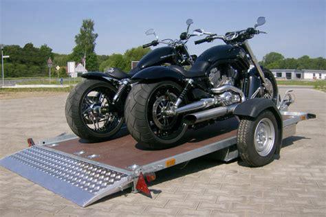 Motorrad Transport Anh Nger Kaufen by Ostmann Fahrzeugbau Motorradzubeh 246 R Motorradanh 228 Nger