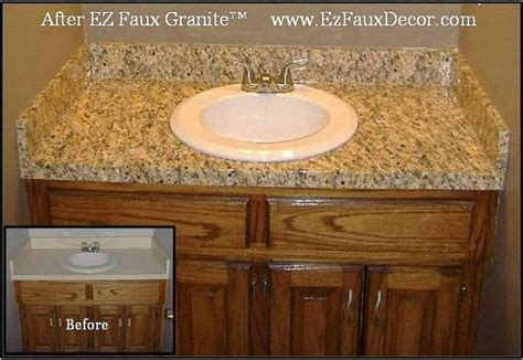 Instant Granite Countertop Cover by Instant Vinyl Counter Top Faux Granite Cover Overlay