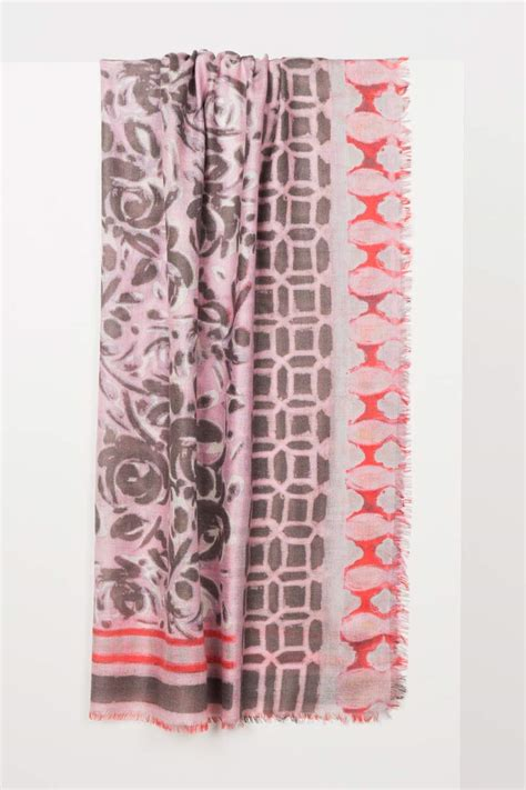 Patchwork Print - patchwork print scarf printed woven scarves kinross