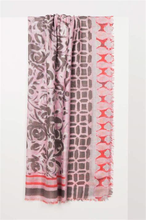 Patchwork Print - patchwork print scarf kinross