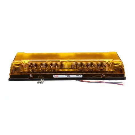 profile led mini light bar permanent mount
