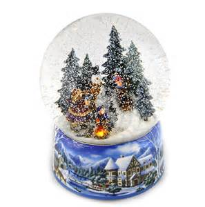 Christmas gt let it snow light up musical christmas snowstorm globe