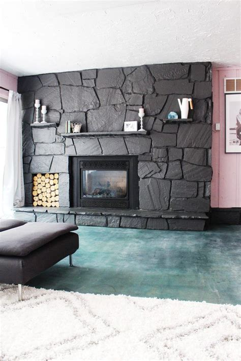 25 best ideas about painted rock fireplaces on pinterest fireplace mantle designs painted