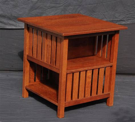 Book Table L by Voorhees Craftsman Mission Oak Furniture L J G