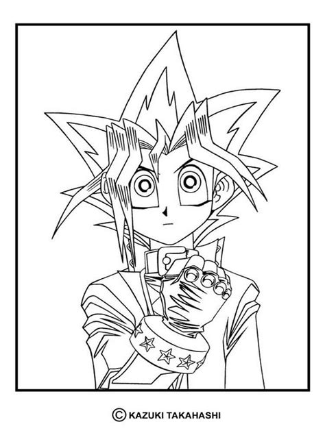 Coloring Pages by Yu Gi Oh Coloring Pages Free Printable Yu Gi Oh Coloring