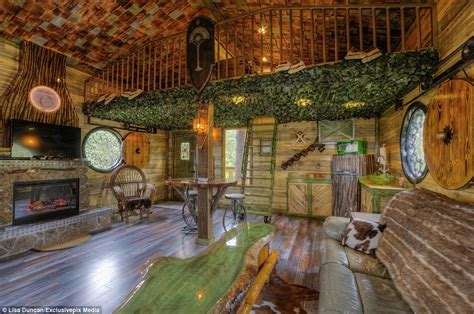 Home Decorations Online by Hobbit Tree House Rental In Black Hills South Dakota Wows