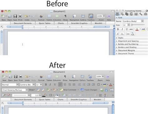 Microsoft Office For Pc Microsoft Office On The Mac Look More Pc Like