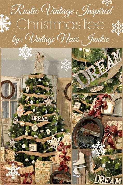 christmas tree decorating vintage style thrifty balsam hill s 12 bloggers of christmas sand and sisal