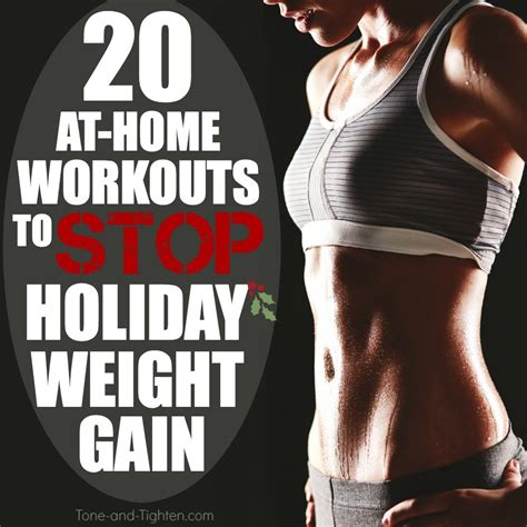 20 workouts to fight weight gain tone and tighten