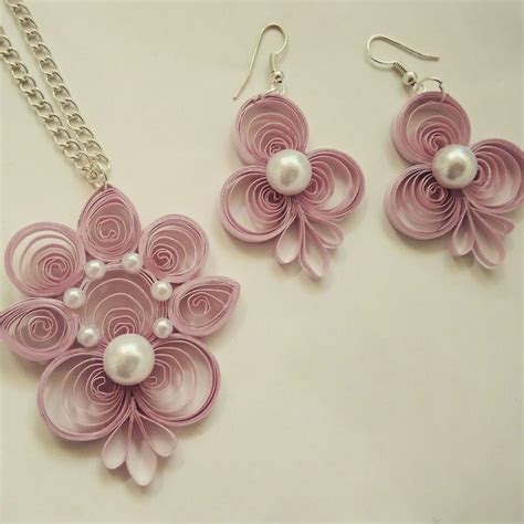 pattern for paper jewelry 1082 best quilling jewellery images on pinterest
