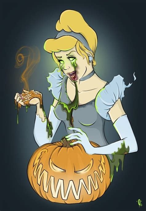 scary cinderella pumpkin clipart clipground