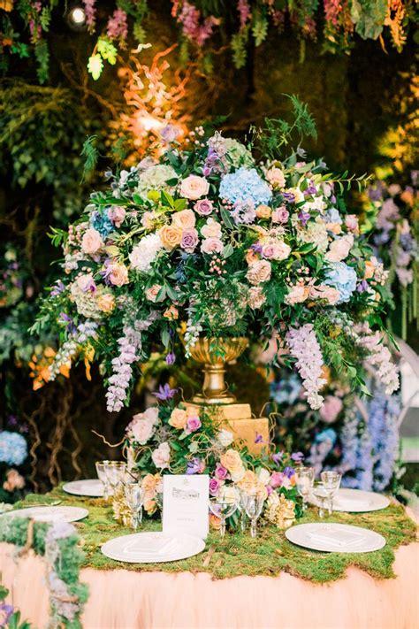 enchanted garden wedding theme floral inspiration