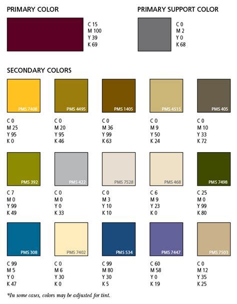Brand Colors | Maysnet Office Templates Employee Information