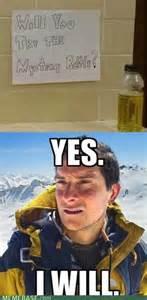 Bear Grills Meme - bear grylls