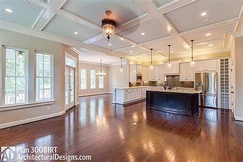 open floor plan farmhouse 1000 ideas about open concept floor plans on