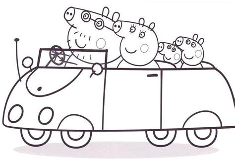 peppa pig coloring pages a4 peppa pig coloring pages bestofcoloring com