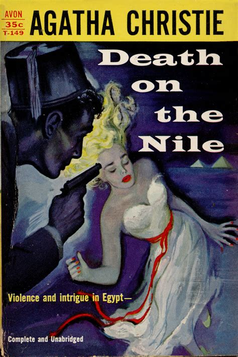 death on the nile death on the nile pulp covers