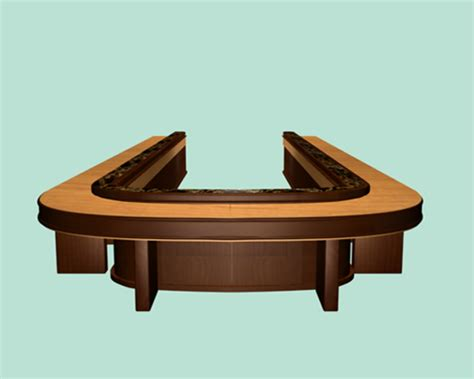 U Shaped Conference Table U Shaped Conference Tables 3d Model 3dsmax Files Free Modeling 17694 On Cadnav