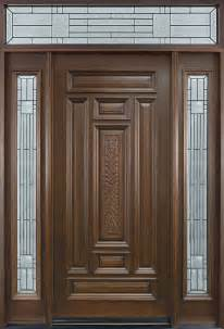 door pattern entry door in stock single with 2 sidelites solid wood