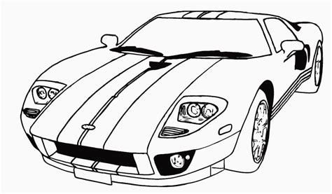 free cars for boys coloring pages