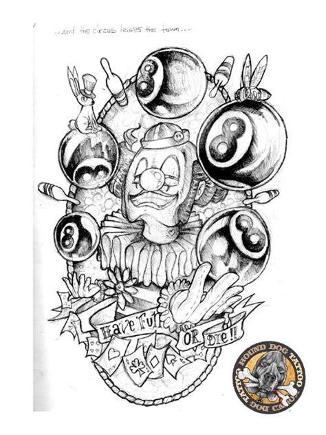 new school clown tattoo 13 best crazy clown tattoo designs images on pinterest