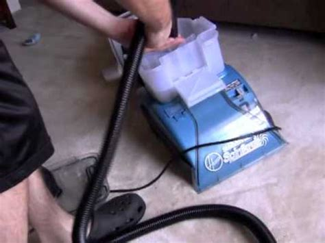 hoover spin scrub upholstery attachment hoover steamvac spinscrub how to attach hose and spin
