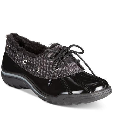 cold weather sneakers klein gamil cold weather shoes in black lyst