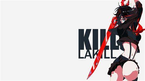 wallpaper girl killing boy 10 fantastic kill la kill wallpapers daily anime art