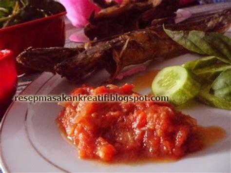 Sambal Pecel Glodak Gurih resep sambal pecel lele spesial aneka resep masakan sederhana kreatif