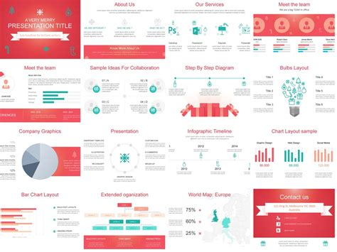 Download Our Free Christmas Themed Powerpoint Template Presentations Templates