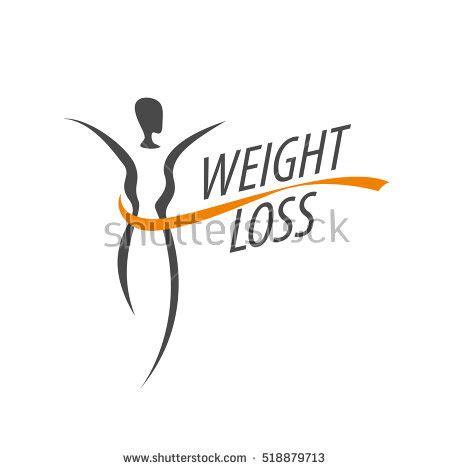 Fatlos Logo Japanese weight loss logo stock vector 517342870