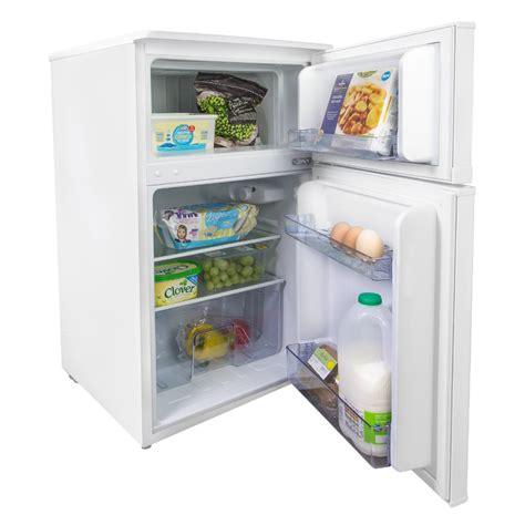 mini table top freezer iceq 96 litre fridge freezer free standing fridges