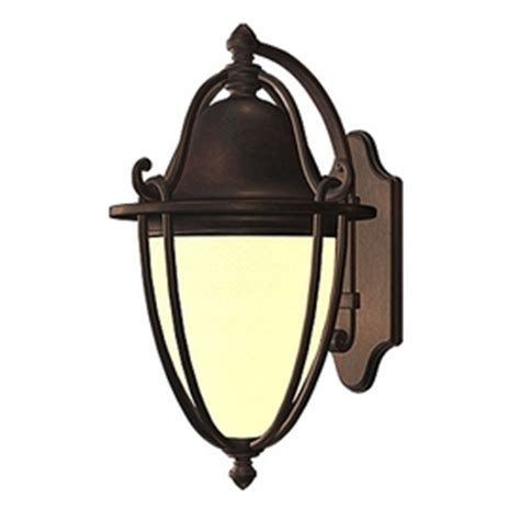 Shop Allen Roth Portage 11 75 In H Bronze Outdoor Wall Allen Roth Landscape Lighting