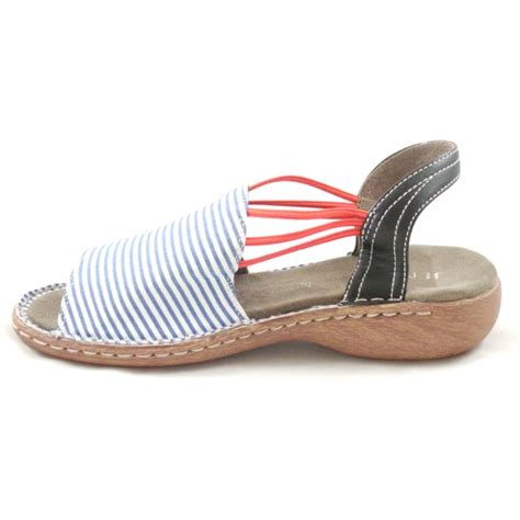 white and blue sandals korsika navy blue and white stripe canvas open toe