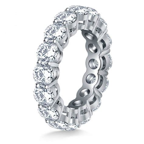 5 00 ct cut eternity wedding band