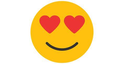 imagenes del emoji enamorado enamorado iconos gratis de smileys