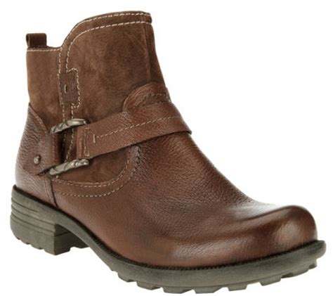 quot as is quot earth origins leather suede ankle boots