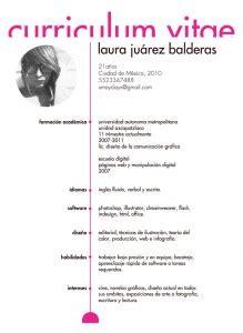 Modelo Curriculum Femenino 10 Ejemplos De Curriculum Vitae Creativos 10puntos