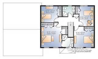 plan de 4 chambres gratuit