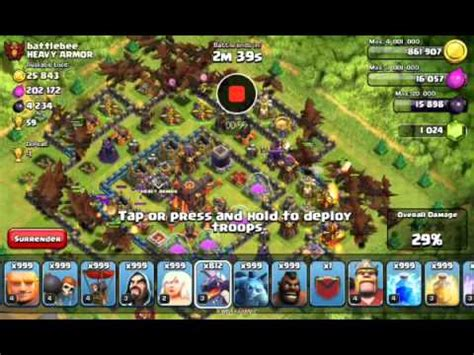 trik pakai xmod game coc simulasi xmod games di coc youtube