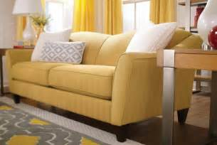 living room lazy boy sofas and loveseats yellow color