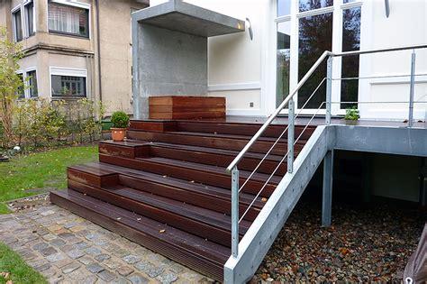 terrasse stahl balkone und terrassen aus stahl trier und metallbau tore