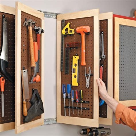 garage pegboard systems