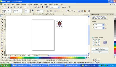 tutorial membuat foto menjadi kartun dengan coreldraw x4 membuat gambar jadi 3d di corel komputer asyik cara mudah