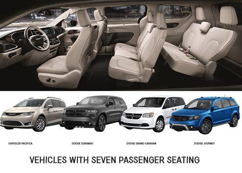 passenger seating vehicles dodge  chrysler