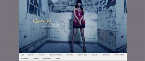 coppermine gallery themes free previous layouts unexpected michelleunexpected michelle