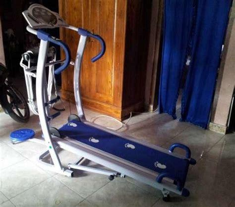 Dijamin Treadmill Manual 5 In 1 alat fitnes lari 6 fungsi harga murah untuk di