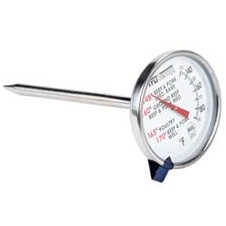 taylor 3504 4 1 2 quot trutemp dial meat thermometer