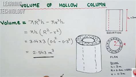 hollow column construction video tutorial hollow concrete column design